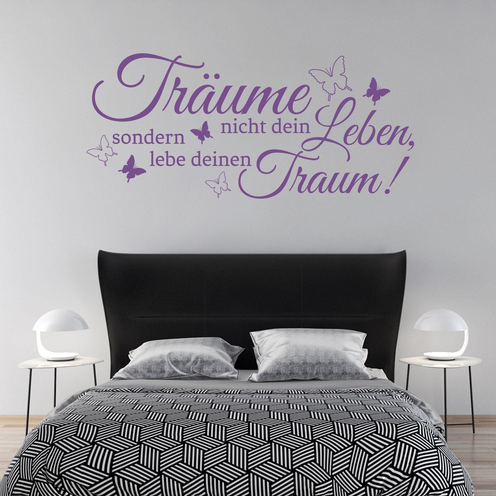 wandtattoo schlafzimmer sprche ~ jan.cukjati design